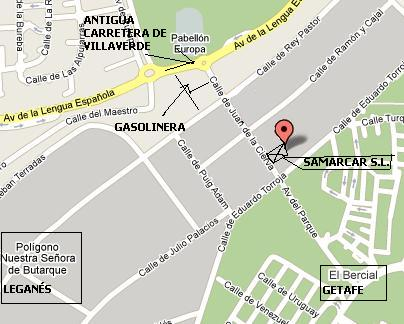maps samarcar